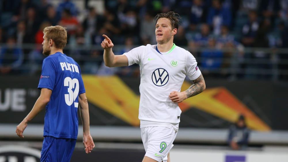 Wout Weghorst trifft in der Europa League.