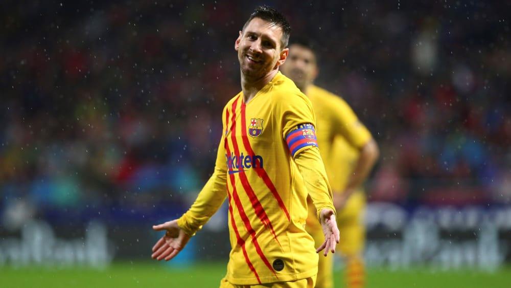 Sorry, so bin ich halt: Wieder mal war Lionel Messi das Zünglein an der Waage.