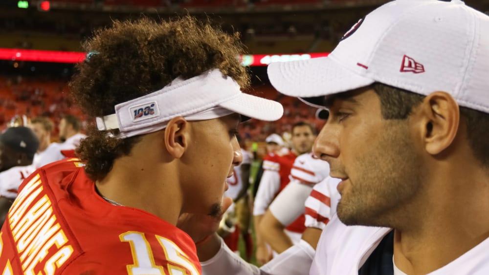 Das Super-Bowl-Duell: MVP Mahomes vs. Scherzkeks Garoppolo - 49ers-Trainer Kyle Shanahan könnte in die Fußstapfen seines Vaters treten