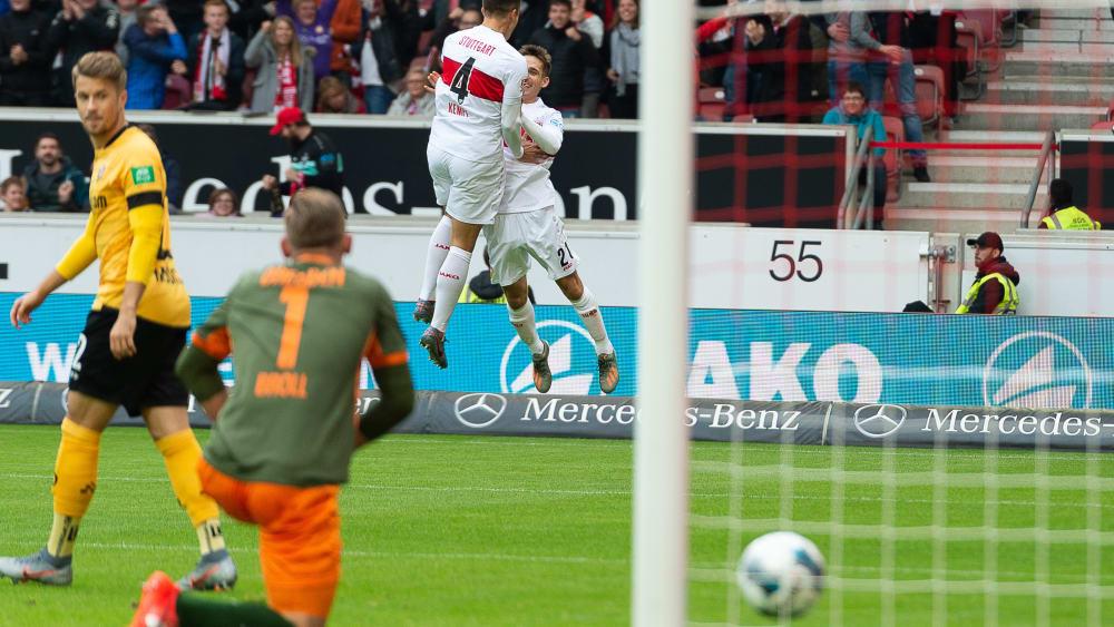 VfB Stuttgart vs. Dynamo Dresden