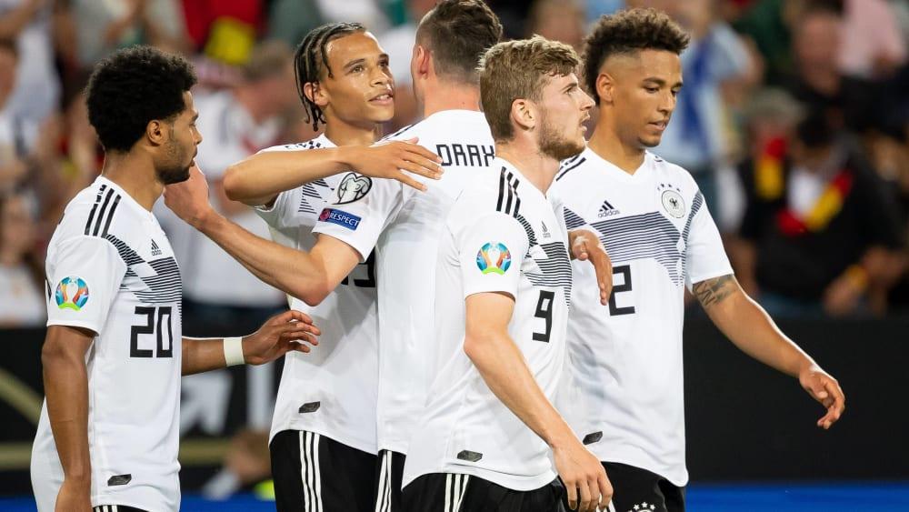 Frischer Wind mit vielen frischen Kräften: Die umformierte DFB-Auswahl kann wieder etwas optimistischer Richtung EM blicken.