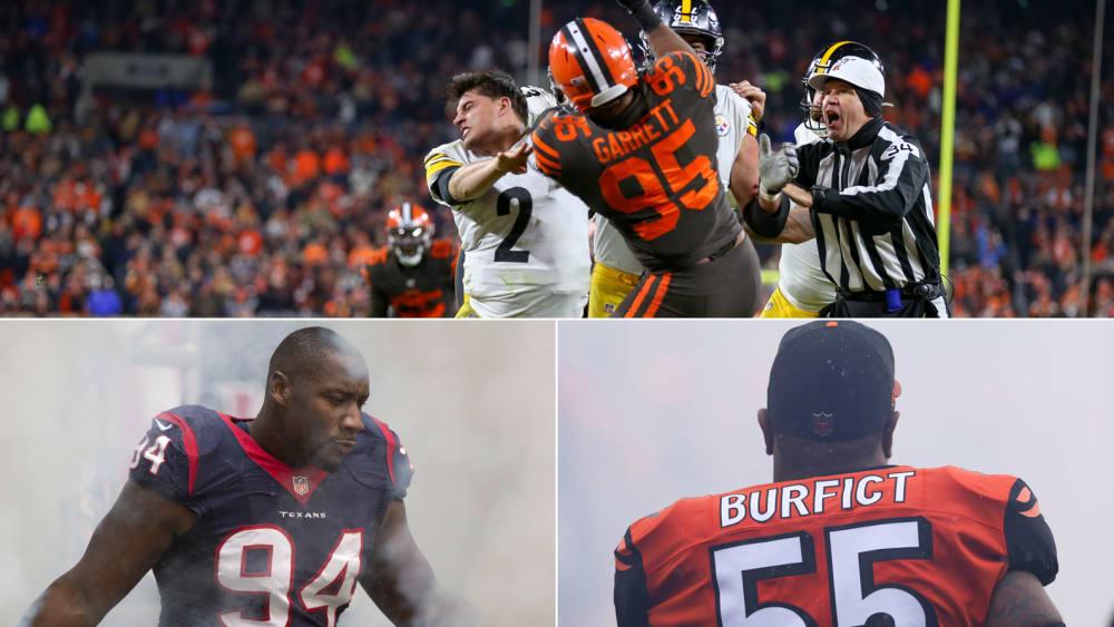 Wiederholungstäter, Faustschläge, Helm als Waffe: Die längsten Sperren der NFL