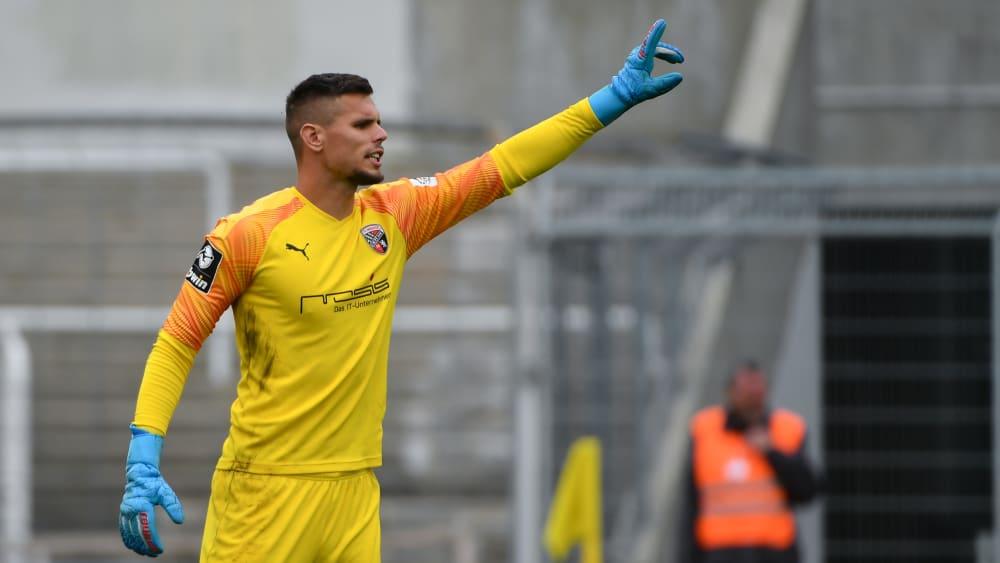 Bleibt auch über den Sommer hinaus die Nummer eins beim FCI: Fabijan Buntic.