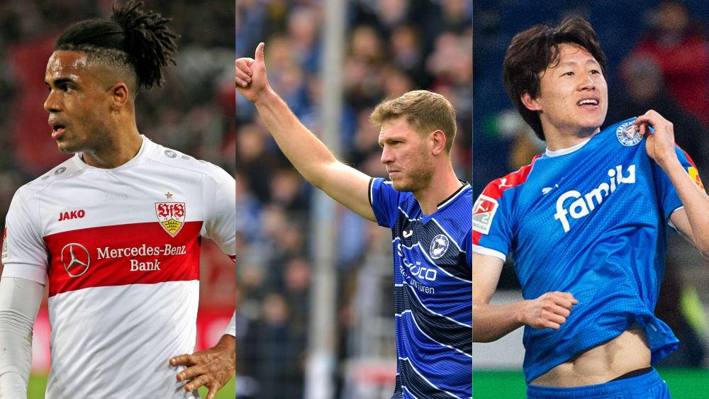 Die notenbesten Feldspieler in der 2. Bundesliga