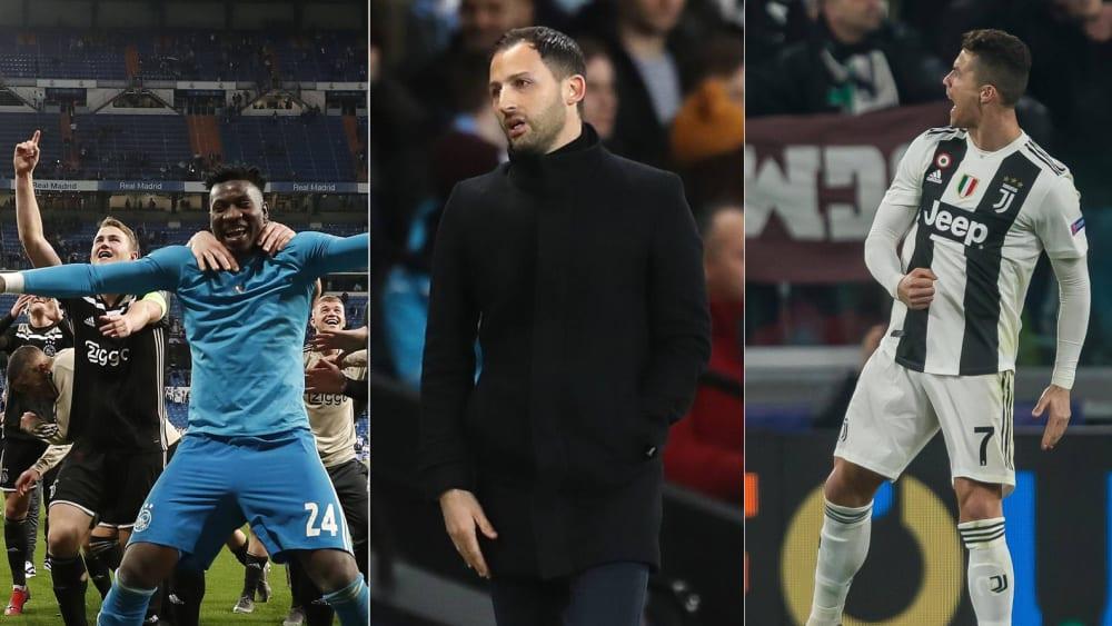 Ajax Amsterdam, Domenico Tedesco, Cristiano Ronaldo