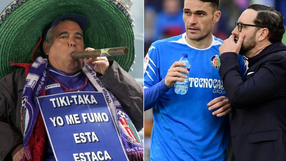 Tiki-Taka? (B)raucht keiner, finden Jorge Molina und José Bordalas.