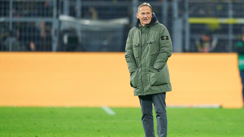 BVB-Geschäftsführer Hans-Joachim Watzke am Freitag zur Absage