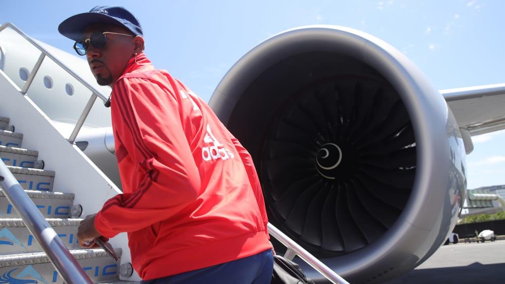 Reist vorzeitig zurück nach München: Jerome Boateng.