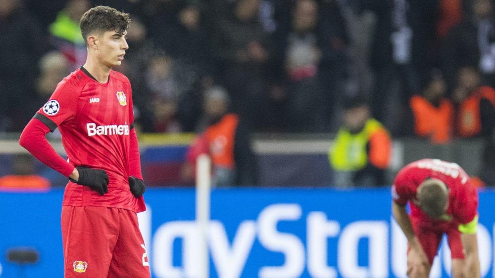 Kai Havertz ist Spieler von Bayer 04 Leverkusen.