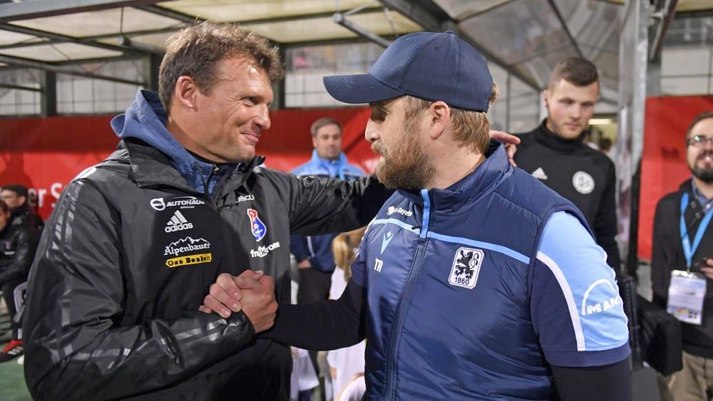 Claus Schromm und Daniel Bierofka