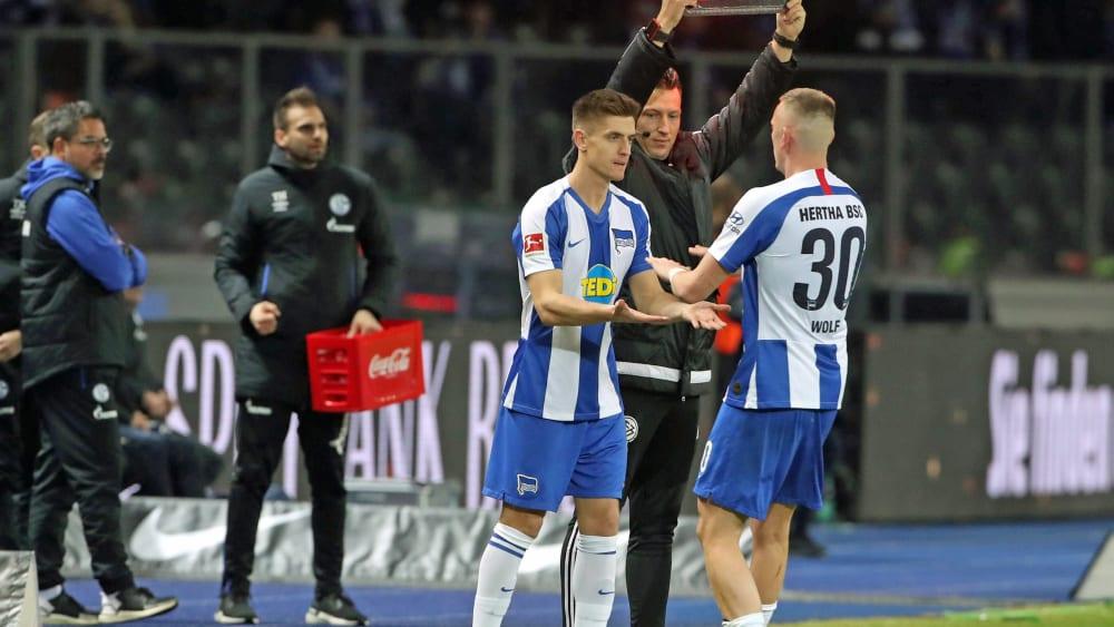 Hertha-Neuzugang Krzysztof Piatek ersetzt Marius Wolf