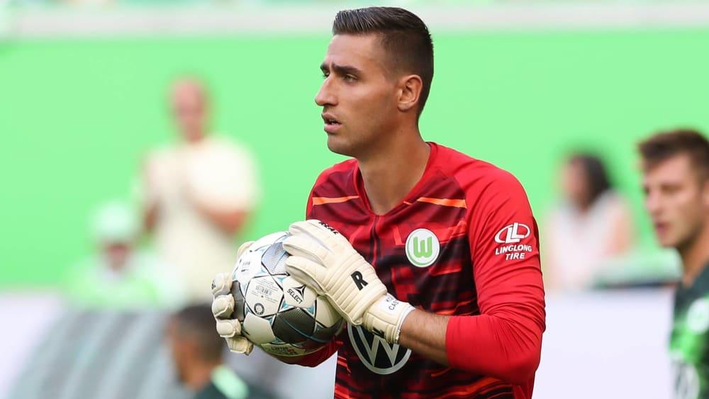 Koen Casteels kehrt gegen Frankfurt zwischen die Pfosten des VfL Wolfsburg zurück.