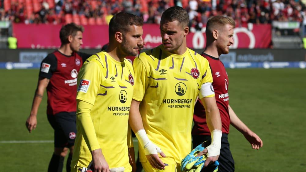 Andreas Lukse Christian Mathenia 1. FC Nürnberg Ingolstadt