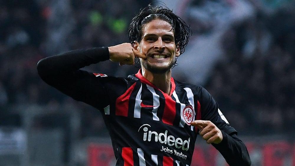 Goncalo Paciencia bleibt noch ein Jahr länger bei der Eintracht.