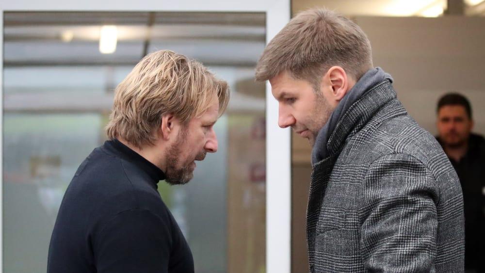 Sven Mislintat und Thomas Hitzlsperger