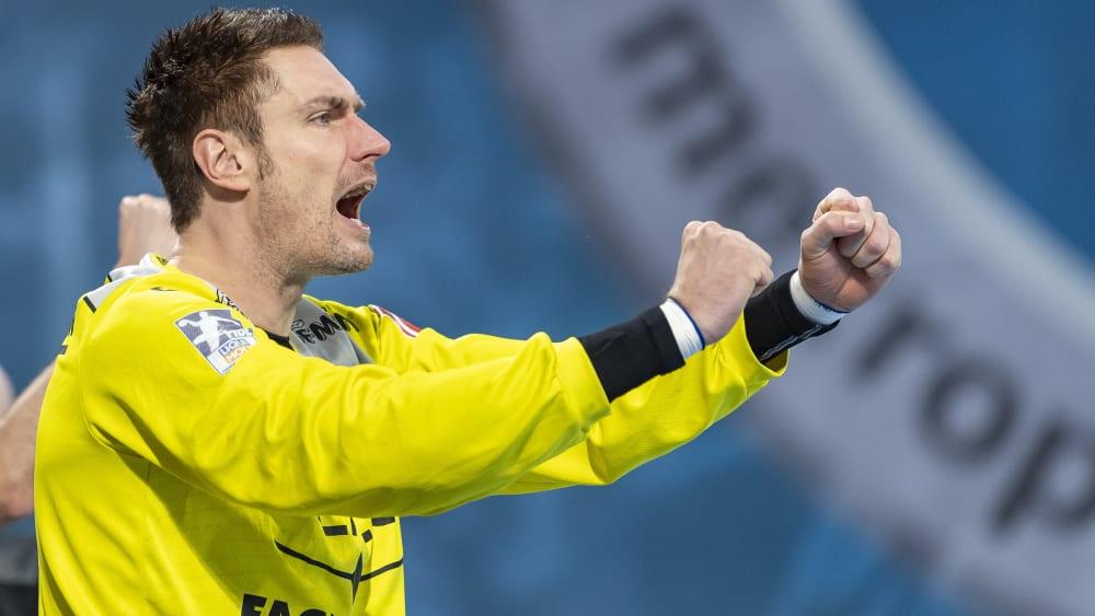 Carsten Lichtlein ist Handball-Torwart.