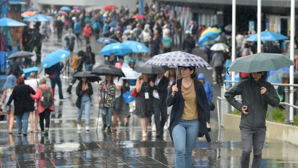 Regen in Melbourne
