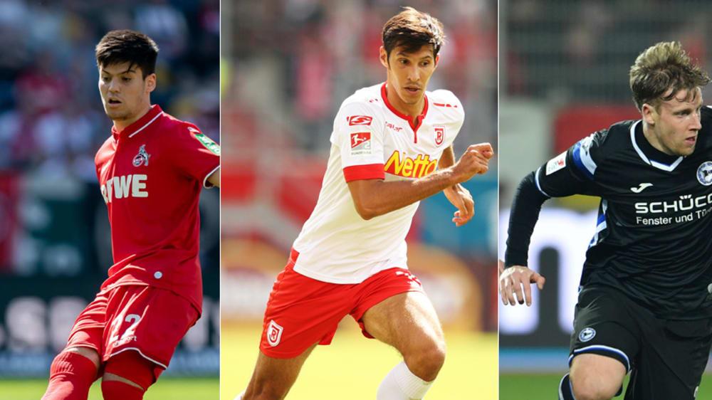 Jorge Meré, Marcel Correia, Brian Behrendt (v.l.)