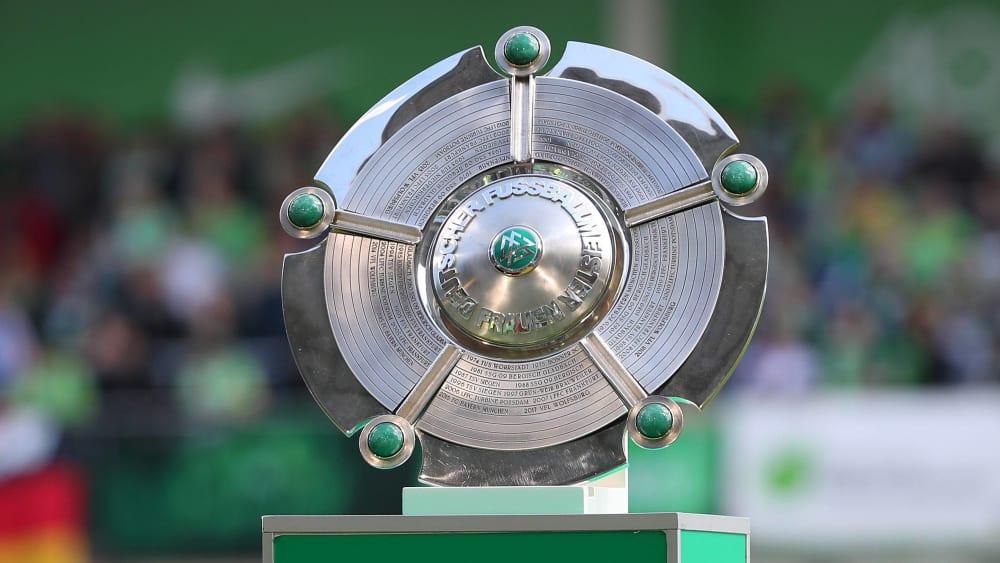 Meisterschale in der Frauen-Bundesliga