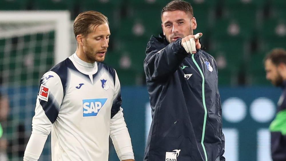 Baumann hat schon die Rückkehr ins Training im Visier - Guter Heilungsverlauf bei Hoffenheims Nummer 1 nach Knie-OP