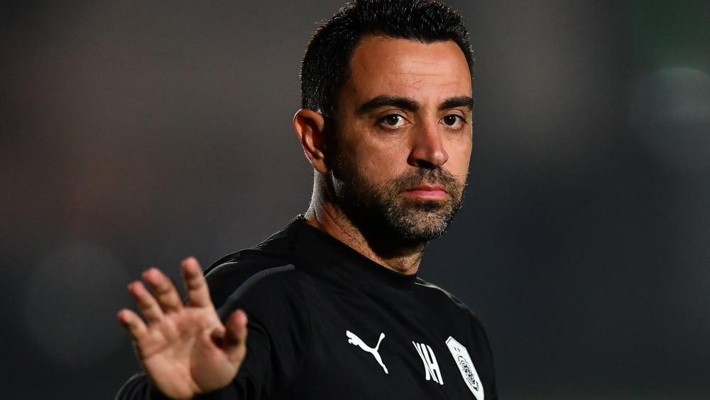 Gespräche mit Barça geführt: Vereinslegende Xavi.