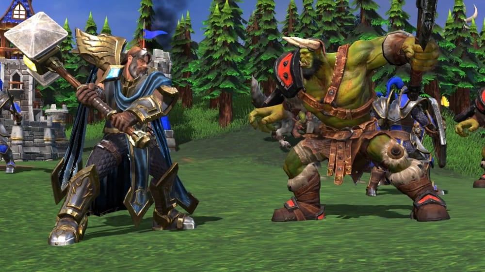 Orcs, Menschen, Nachtelfen und Untote - bald betritt WarCraft 3 Reforged die Bühne