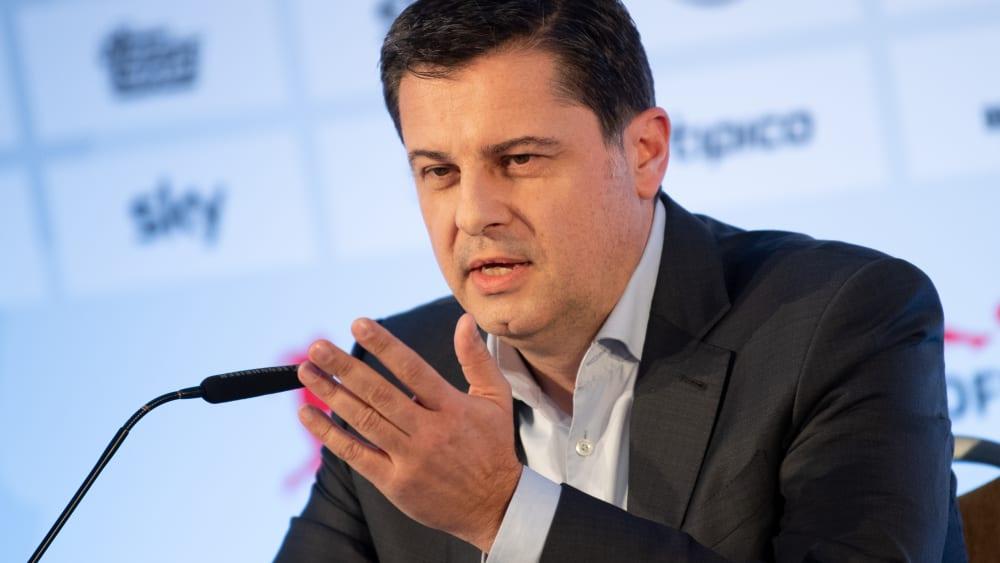Christian Seifert ist Vorsitzender der Geschäftsführung der Deutschen Fußball Liga (DFL).