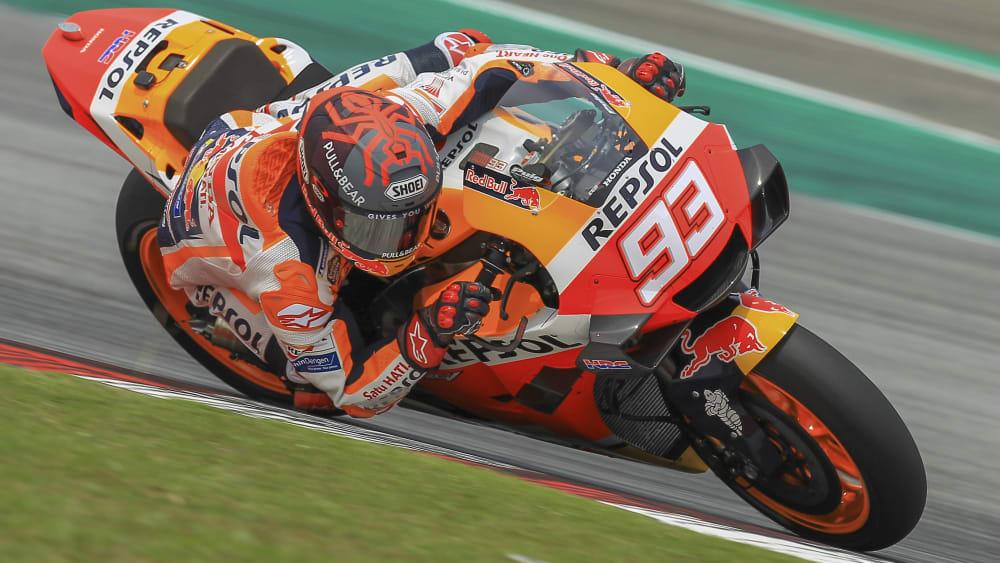 Marc Marquez bleibt Honda lange treu.