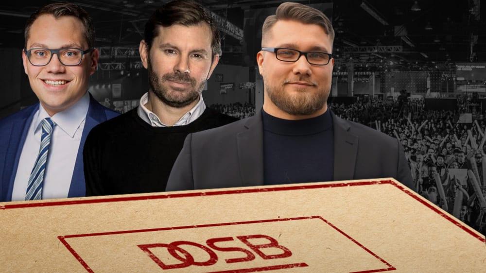 Tiemo Wölken, Tim Reichert und Hans Jagnow (v.l.n.r.) sprachen sich in Reaktion auf das Gutachten für den eSport aus.