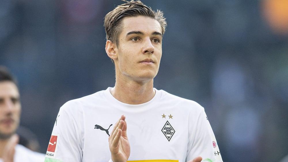 Florian Neuhaus hat seinen Vertrag bei Borussia Mönchengladbach verlängert.