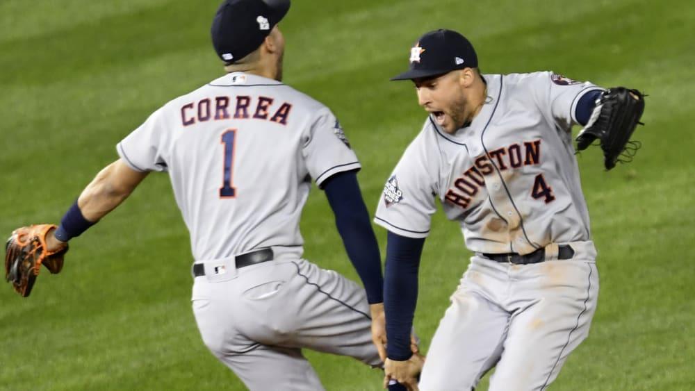 Carlos Correa und George Springer
