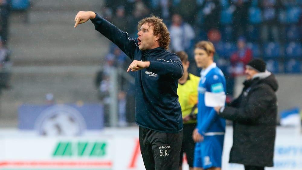 Magdeburgs Trainer Stefan Krämer