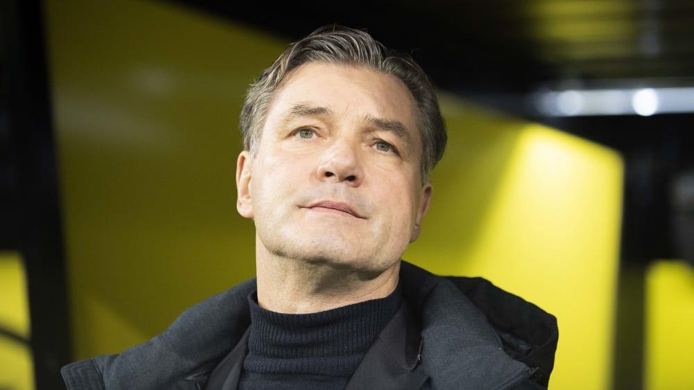 Alles auf Stand-by bei Borussia Dortmund: Sportdirektor Michael Zorc.