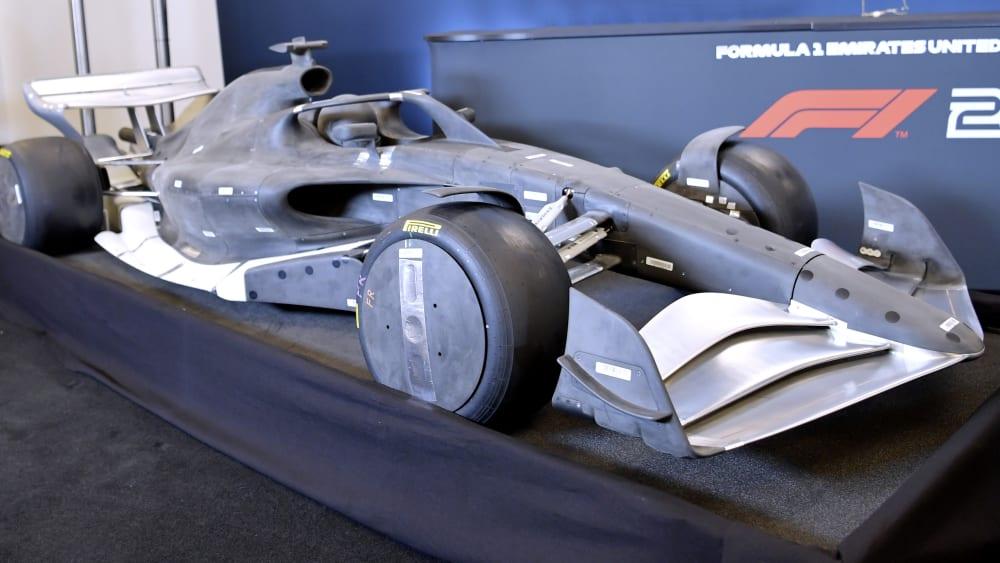 Wie sehen die neuen Formel-1-Boliden aus?