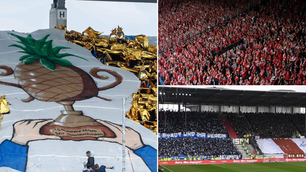 Fan-Auswärtstabelle der 2. Bundesliga
