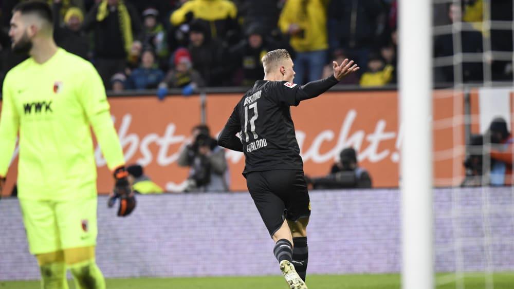Dortmunds Erling Haaland