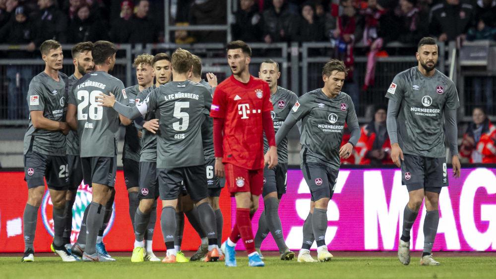 Gleich fünfmal durften die Nürnberger gegen die Bayern jubeln.