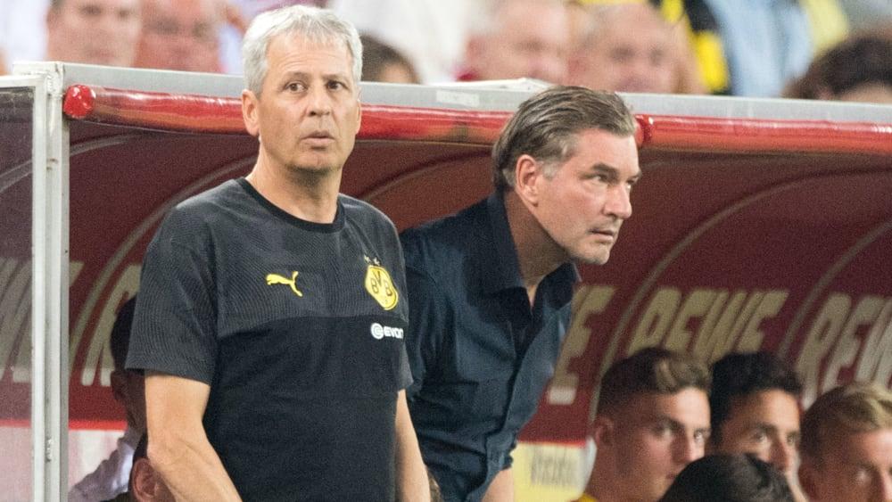 """Zorc dementiert Dissenz mit Favre: """"Das ist doch irrsinnig!"""" - BVB-Trainer will weniger über den Titel sprechen"""