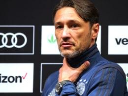 """Kovac: """"Jeder kämpft um seinen Platz"""""""