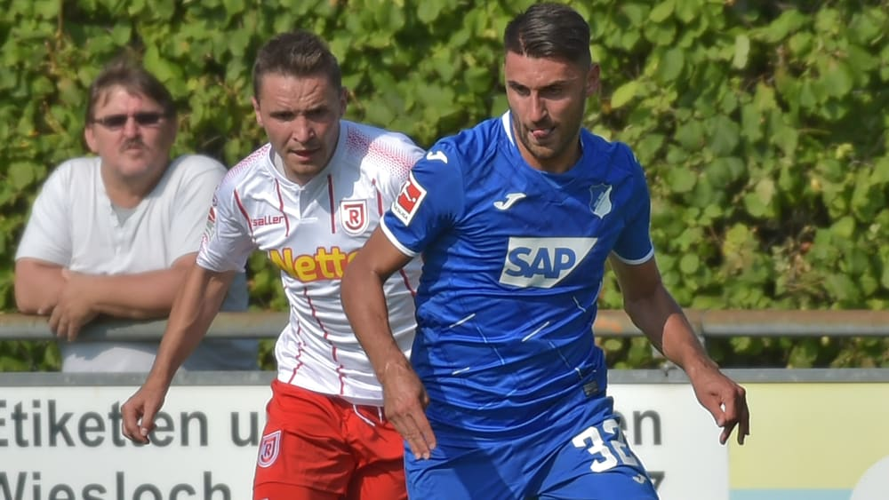 Stark am Ball und vor allem bei Standards: Hoffenheims Rückkehrer Vincenzo Grifo.