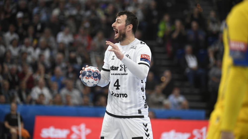 Vergeblich geschrien: Domagoj Duvnjak und der THW kassierten die erste CL-Pleite in der laufenden Saison.