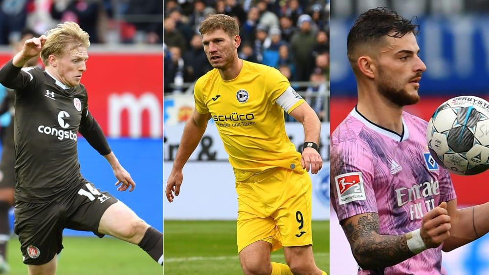 Mats Möller Daehli, Fabian Klos, Tim Leibold