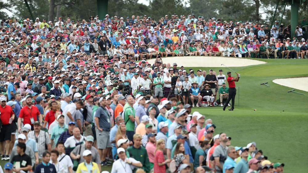 Tiger Woods beim Augusta Masters