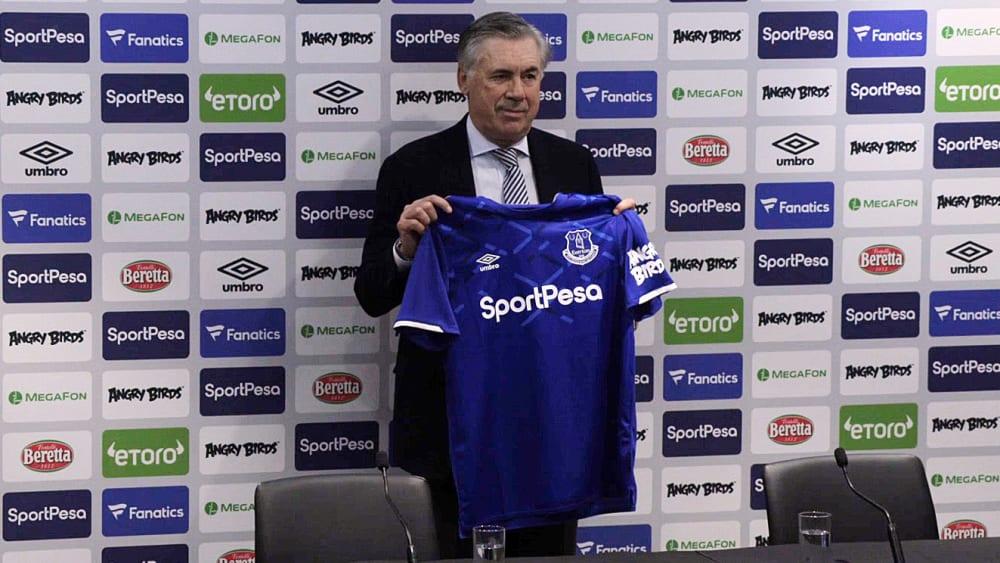 Langer Vertrag, große Ziele: Carlo Ancelotti beim FC Everton.