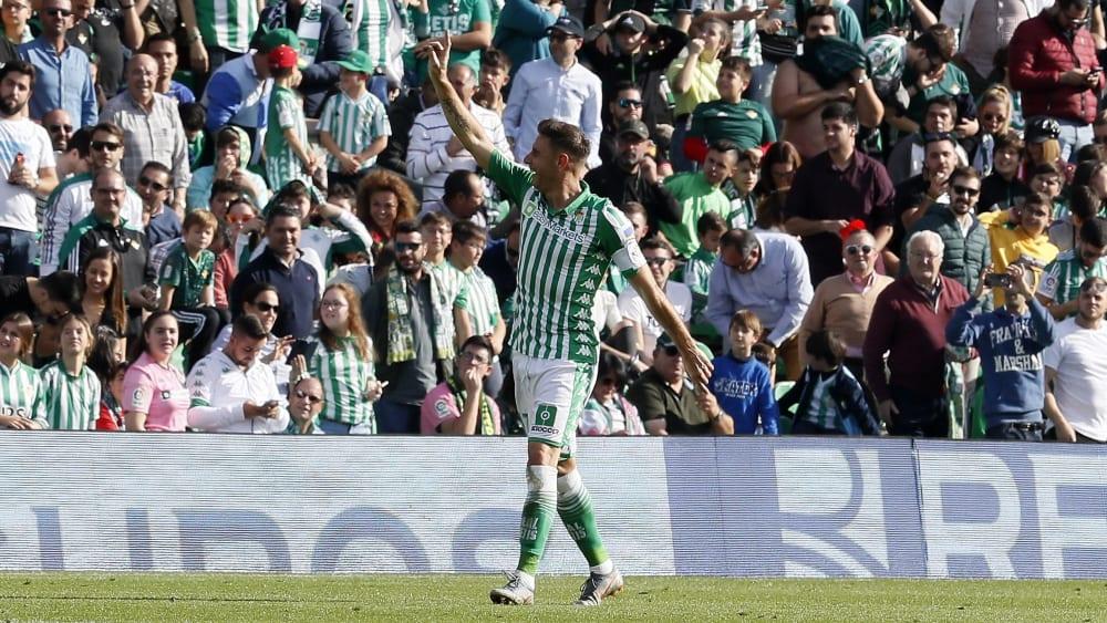 Ein Phänomen von La Liga: Betis-Angreifer Joaquin.