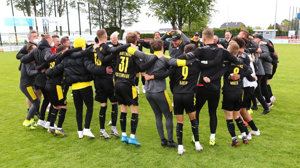 Gegen alle Widerstände: Wie dem BVB II der Drittliga-Aufstieg gelang
