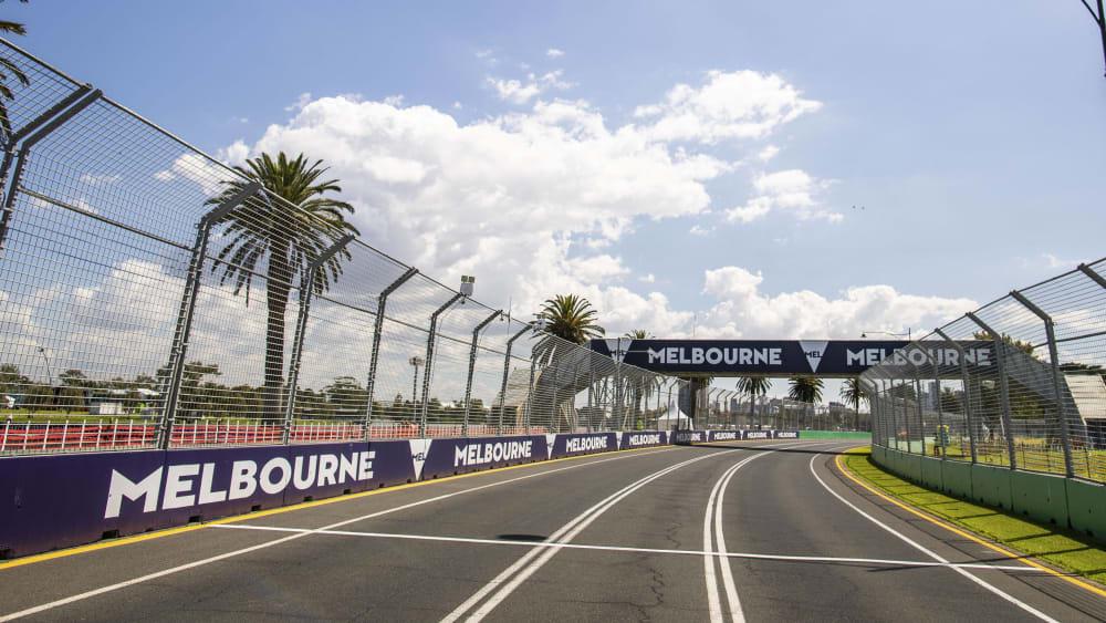 Die Formel-1-Strecke in Melbourne bleibt leer, der GP wurde abgesagt.