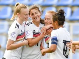Finale! U-17-Juniorinnen des DFB auf Titelkurs