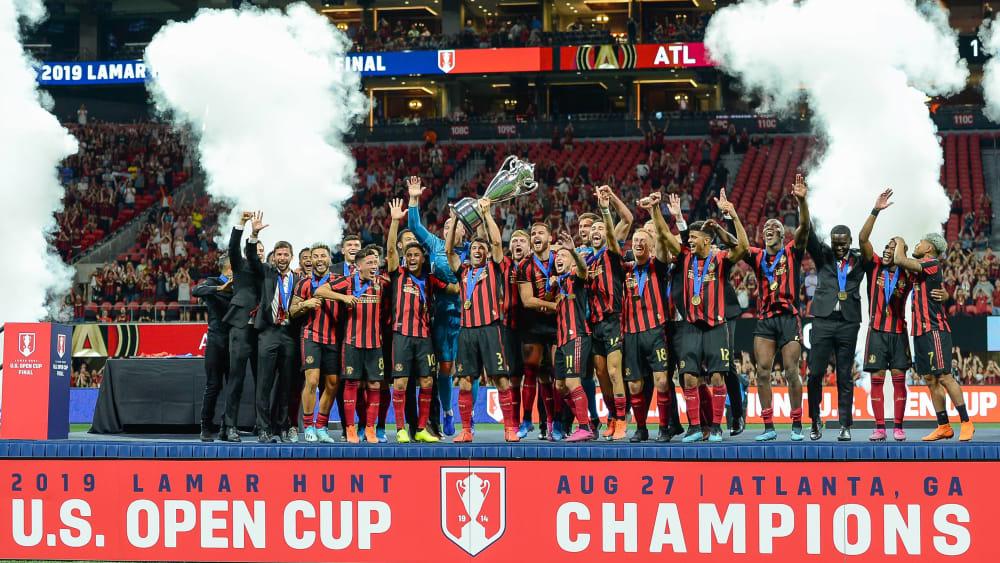 Atlanta feiert den Cup-Sieg