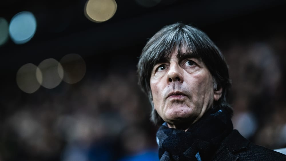 Joachim Löw ist Bundestrainer.